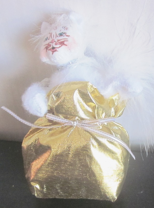 "Annalee 4"" Elegant Kitty 750413"
