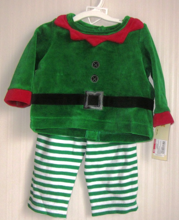 Cherokee Elf Outfit 2 pieces 6 months