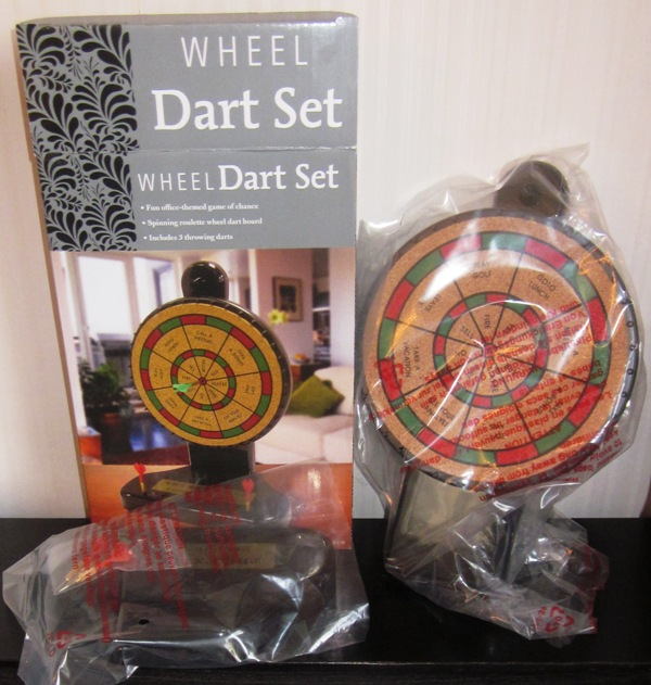 Executive Decision Maker Wheel Dart Set