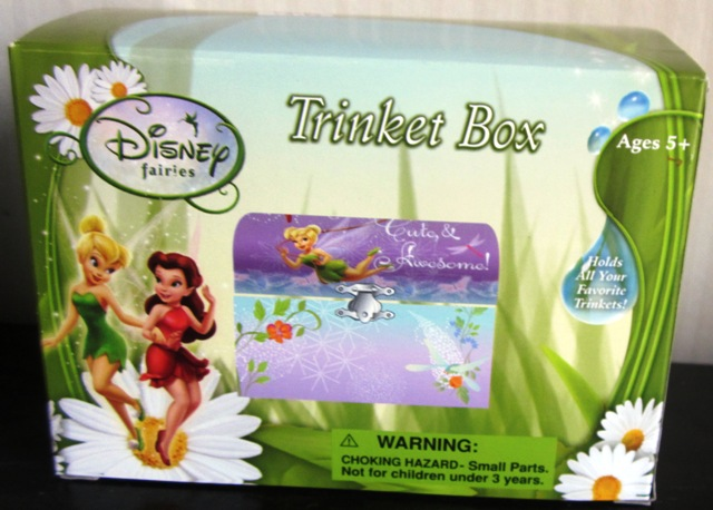 Disney Fairies Jewelry Trinket Box Tinkerbell FAB Starpoint