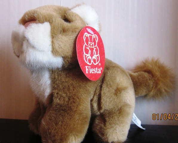 "Fiesta Plush Stuffed 5.5"" Jungle Cubs"