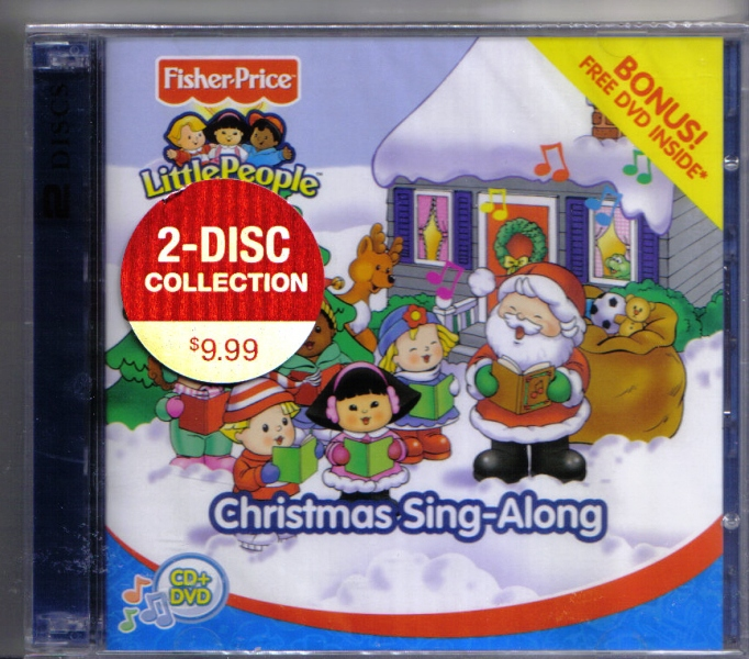 Fisher Price Christmas Sing Along 2 Disc CD