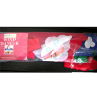 Merry Christmas Wind Dancer Flag Banner Santa