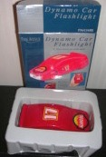 Dynamo Flashlight Car Shaped Park Avenue Red