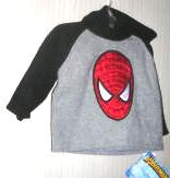 The Amazing Spiderman Fleece Hooded Boys 24 months