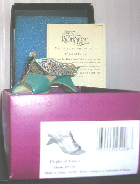 Just The Right Shoe by Raine Flight of Fancy Dragonfly 25208