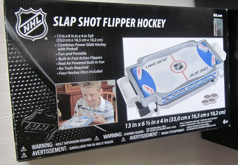 NHL Slap Shot Flipper Hockey Table Top Electronic Game