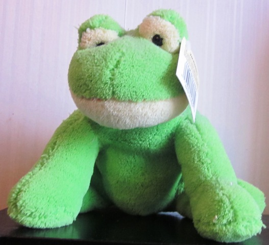 Plush Stuffed Frog