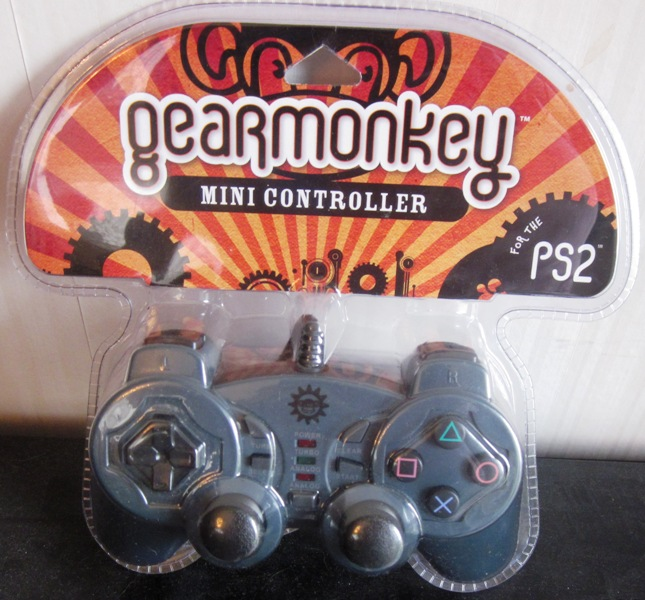 Gearmonkey Gear Monkey Mini Controller for Playstation 2 PS2