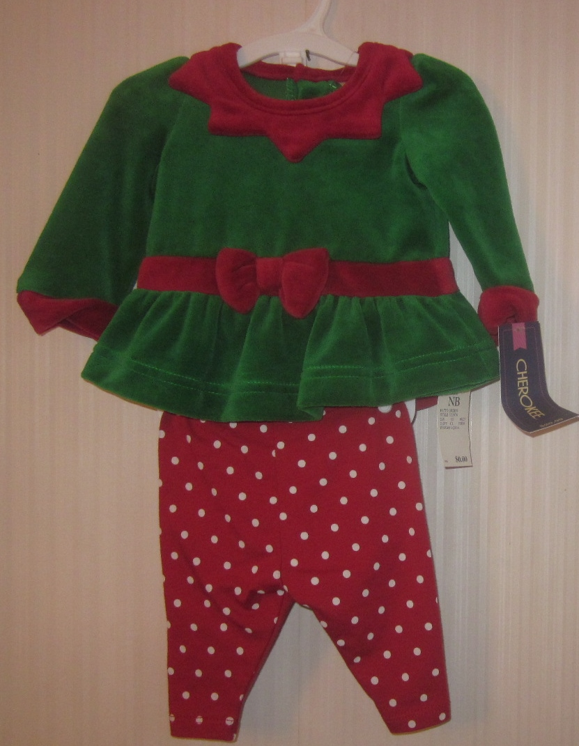 Newborn Girl Elf Outfit