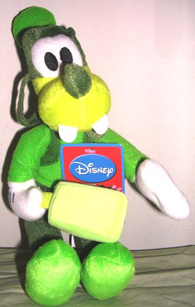 Disney Sega Goofy Plush Stuffed Flavor of the Month Green