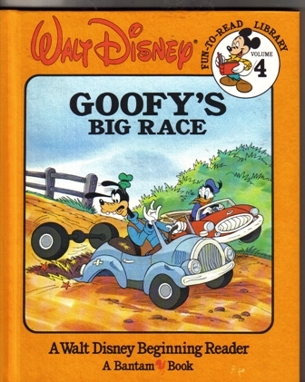 Walt Disney Fun To Read Library Volume 4 Goofy's Big Race