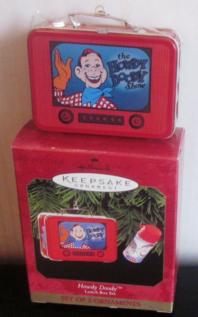 Hallmark Keepsake Ornament Howdy Doody Lunch Box Set