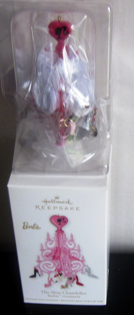 Hallmark Keepsake 2012 Barbie The Shoe Chandelier QX12684