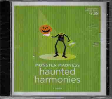 Halloween CD Monster Madness Haunted Harmonies