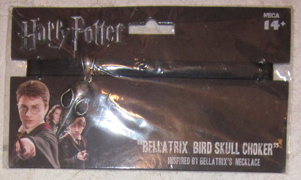 Harry Potter Bellatrix Bird Skull Choker Necklace
