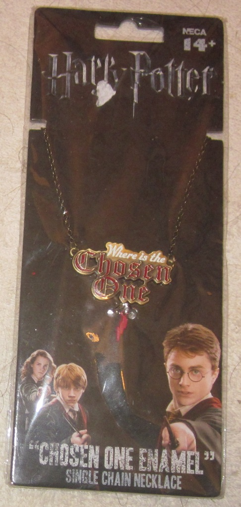 Harry Potter Chosen One Enamel Necklace Single Chain