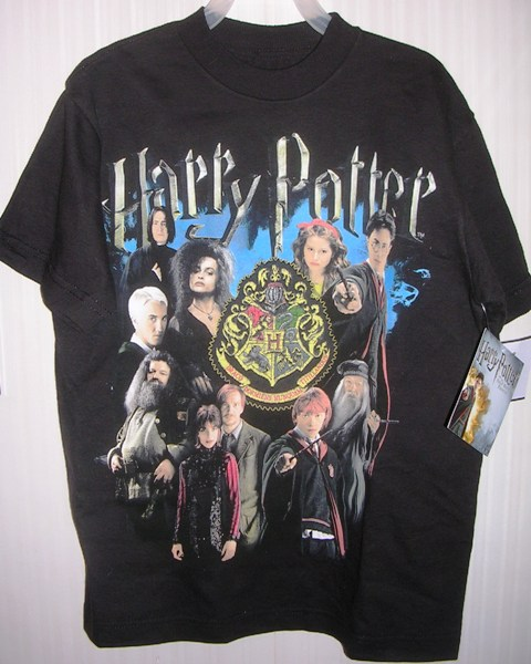 Harry Potter and the Half Blood Prince Black T Shirt Med 8