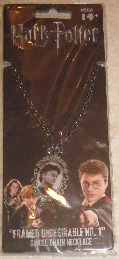 Harry Potter Framed Undesirable No. 1 Single Chain Necklace - Click Image to Close