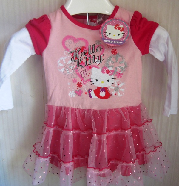 Hello Kitty tutu dress tulle skirt 24 Months Pink