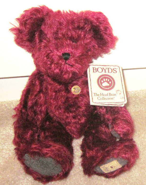 Boyds Bears Mohair Holly Red 590064
