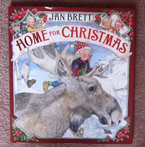 Home for Christmas by Jan Brett Hardback