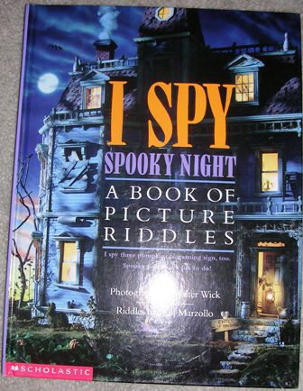 I Spy Spooky NIght by Jean Marzollo Walter Wick