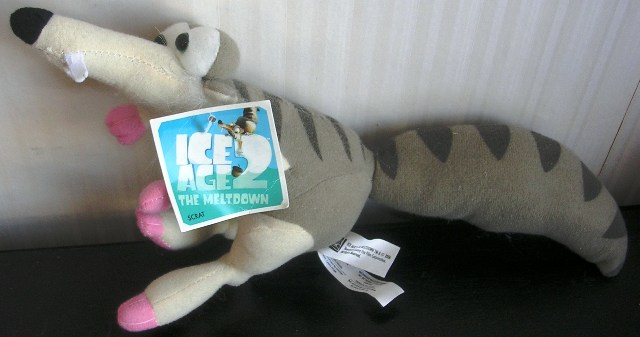 "Ice Age 2 The Meltdown 14"" Scrat Plush"
