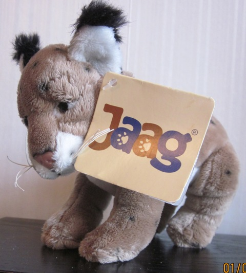 Jaag Cougar Cub Plush Stuffed
