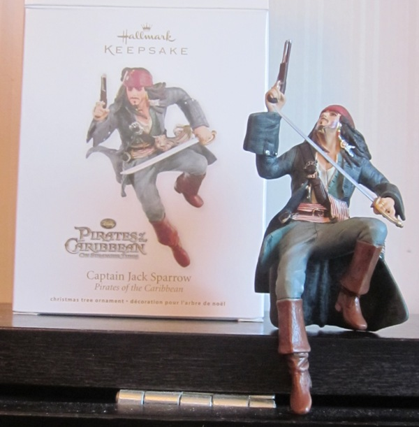 Hallmark Keepsake Pirates of the Caribbean Jack Sparrow 2011