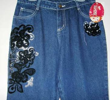 Girls Denim Jeans Bratz Size 10
