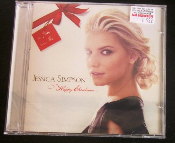 Jessica Simpson Happy Christmas CD