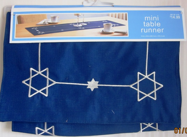 Jewish Judaica Hanukkah Chanukah Star Of David Table