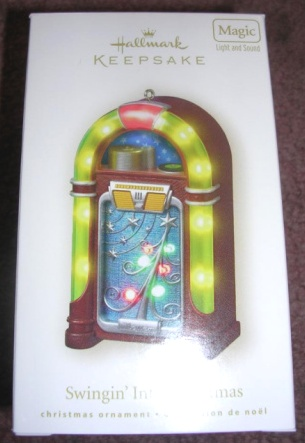Hallmark Ornament Swinging Into Christmas New 2008
