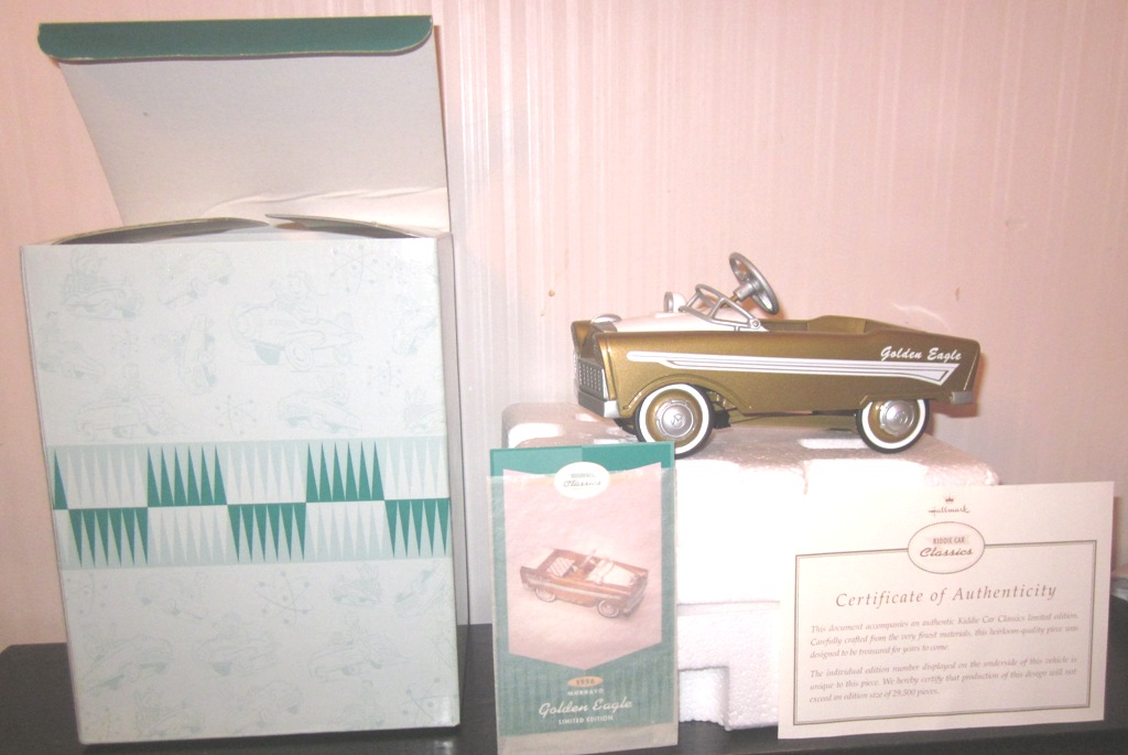 Hallmark Kiddie Car Classics 1956 Murray Golden Eagle LE QHG9033
