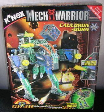 Knex Mechwarrior Cauldron Born and Owens