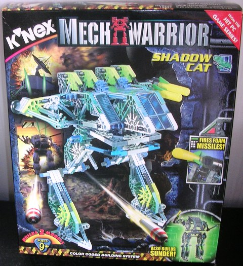 Knex Mechwarrior Shadow Cat and Sunder 12531