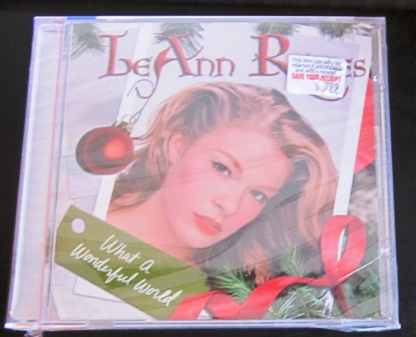 Leann Rimes What A Wonderful World CD