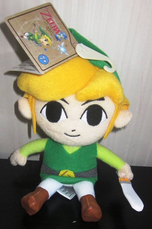 Zelda Phantom Hourglass Link Plush