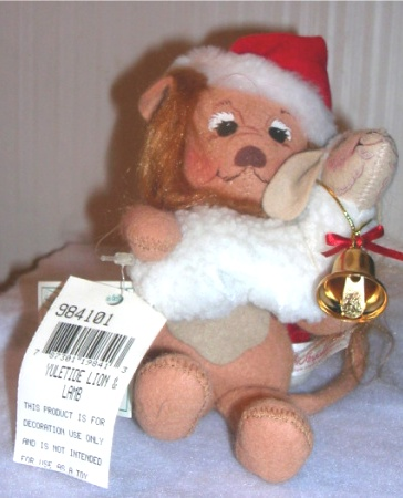 Annalee Yuletide Lion and Lamb 984101