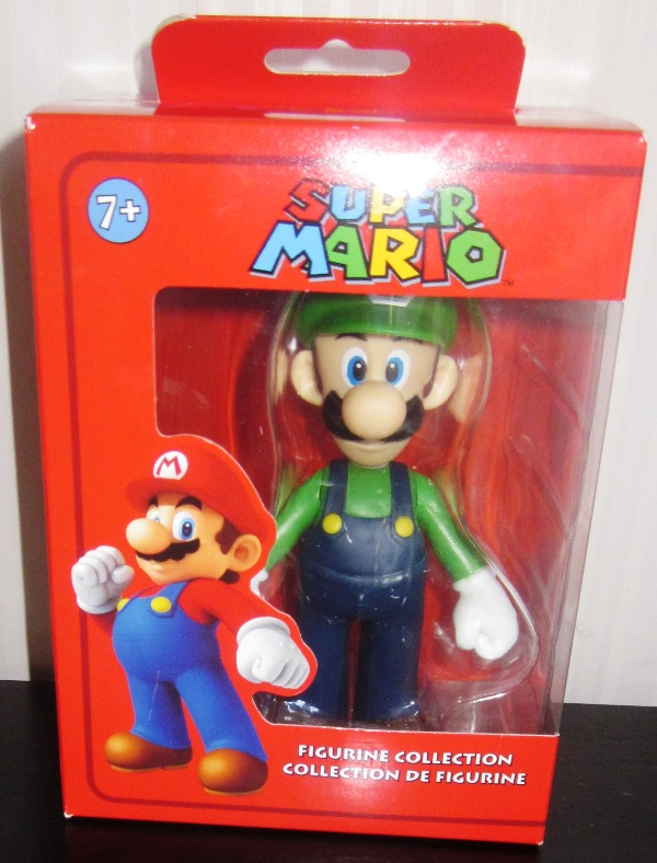 Super Mario Figurine Collection Luigi Red Box by Banpresto