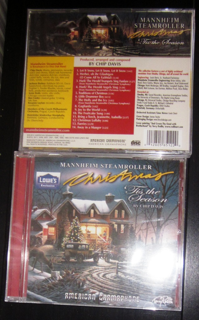 Mannheim Steamroller Christmas CD Tis The Season Lowes Exclusive