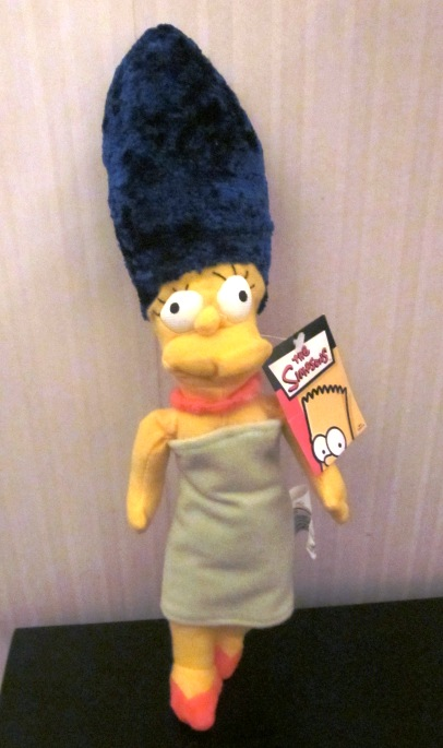 The Simpsons Plush Stuffed Marge 13 Inches