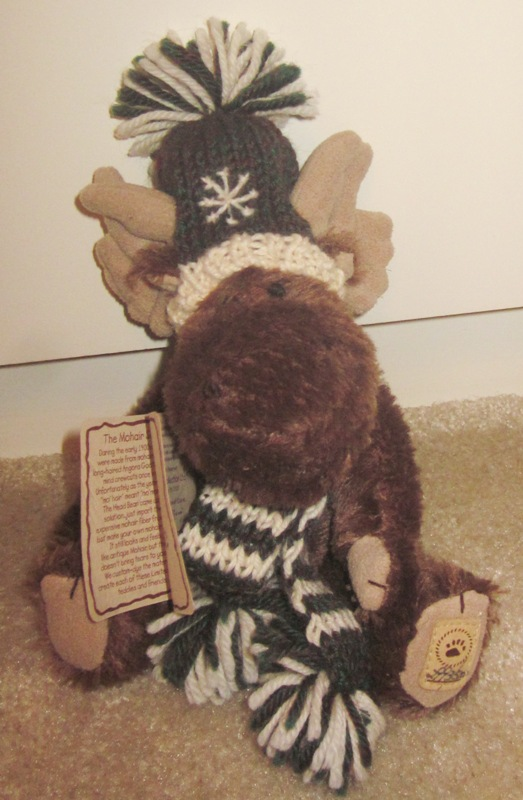Boyds Bears Mohair Markle Brown Moose 590070