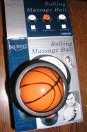 Rolling Massage Ball Sports Ball Basketball