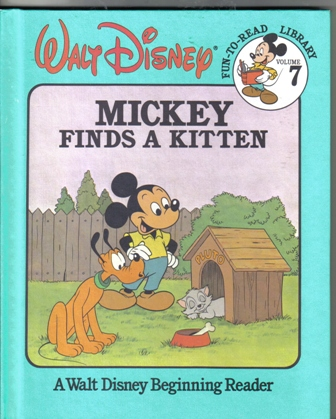 Walt Disney Fun To Read Library Volume 7 Mickey Finds A Kitten