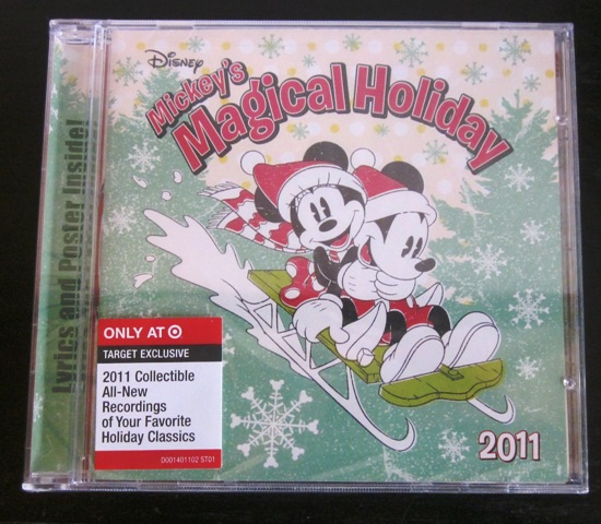 Disney Mickey's Magical Holiday CD 2011 Collectible