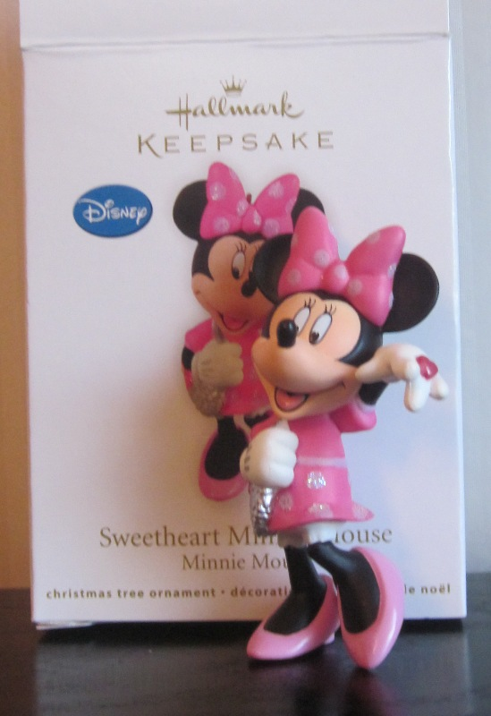 Hallmark Keepsake Sweetheart Minnie Mouse Ornament 2011