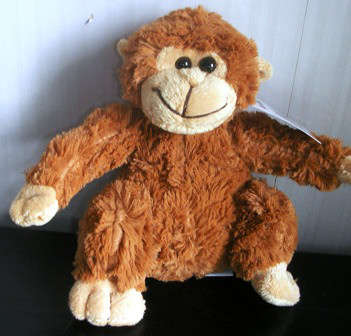 Chinda Plush Stuffed Brown Monkey 7""