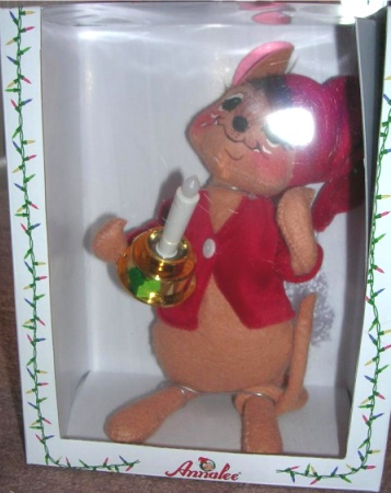 Annalee Mouse with Candle Macy Exclusive In Lights